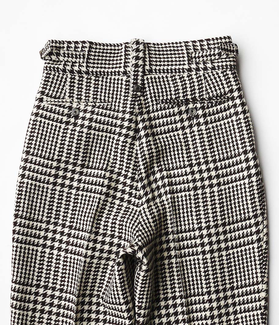 NEAT Marling & Evans Glen Check Beltless