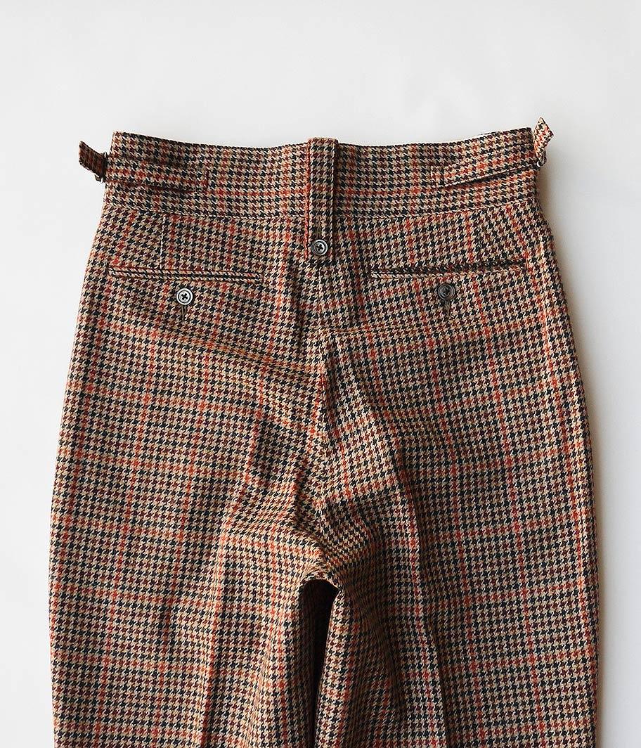 NEAT Wool Gun Club Check Beltless