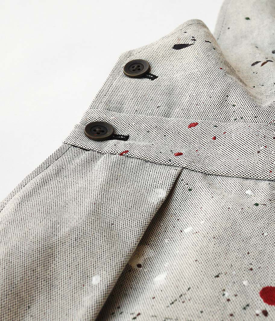 NEAT DEADSTOCK CONEMILLS CANVAS OVERALL