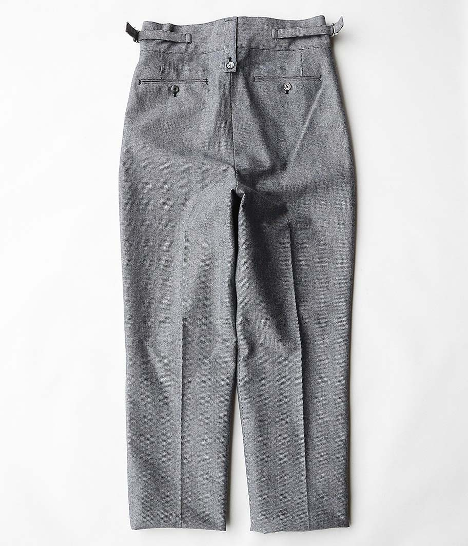 NEAT AWC Wool / Cotton Oxford Beltless