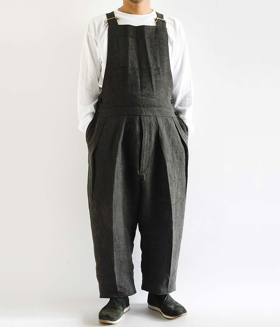 NEAT High density linen japanese paper charcoal dye Overall