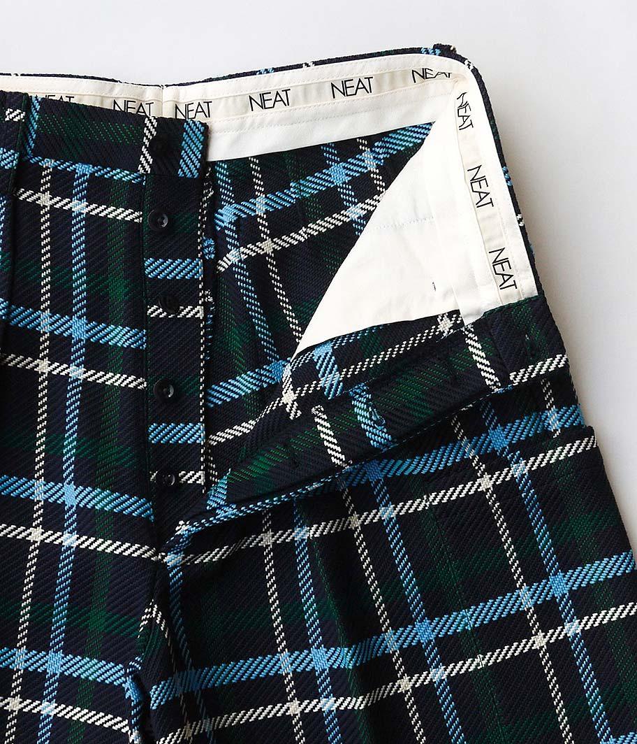 NEAT Falier Sarti Check  Cargo Shorts