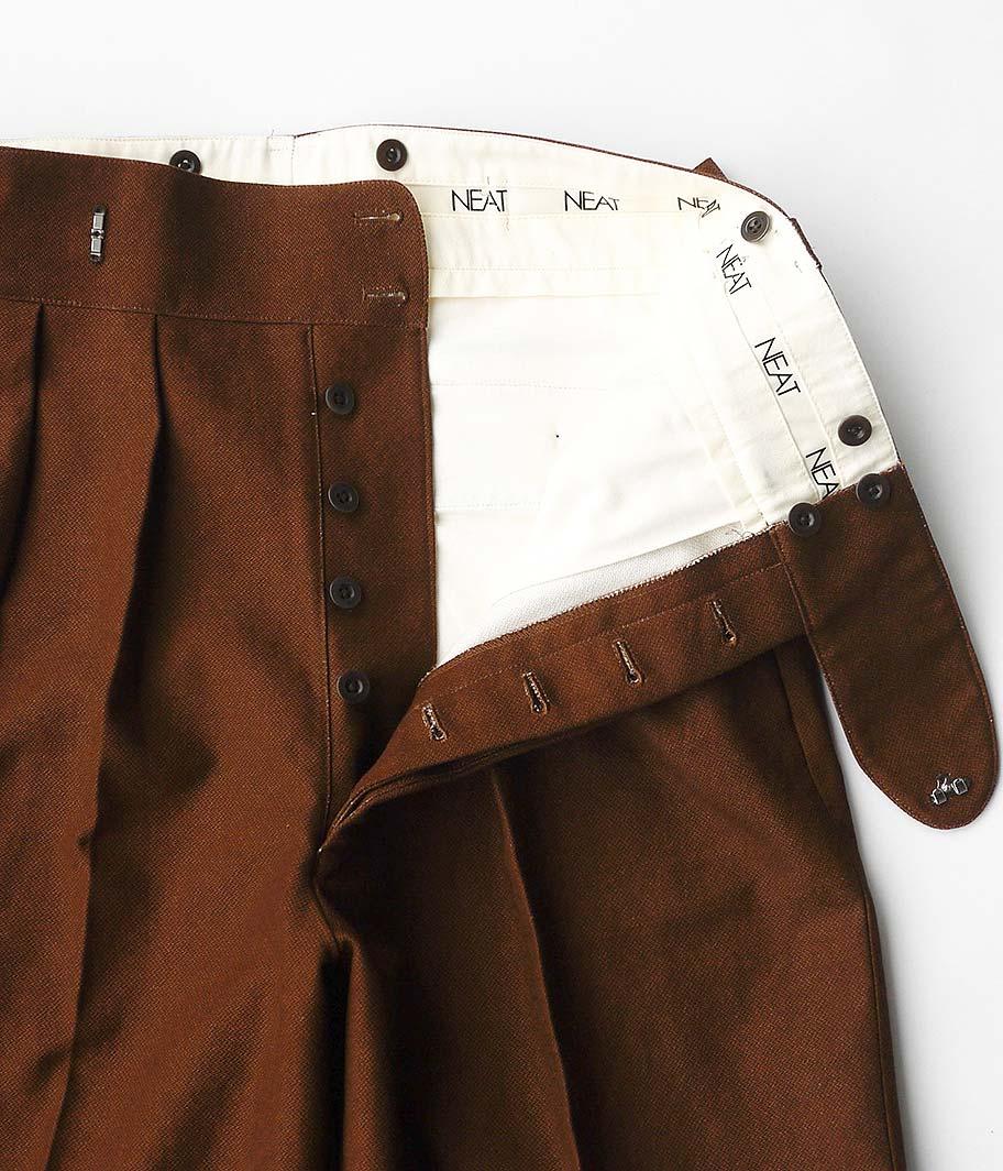 NEAT Buffalo Cloth Pigment Print Beltless