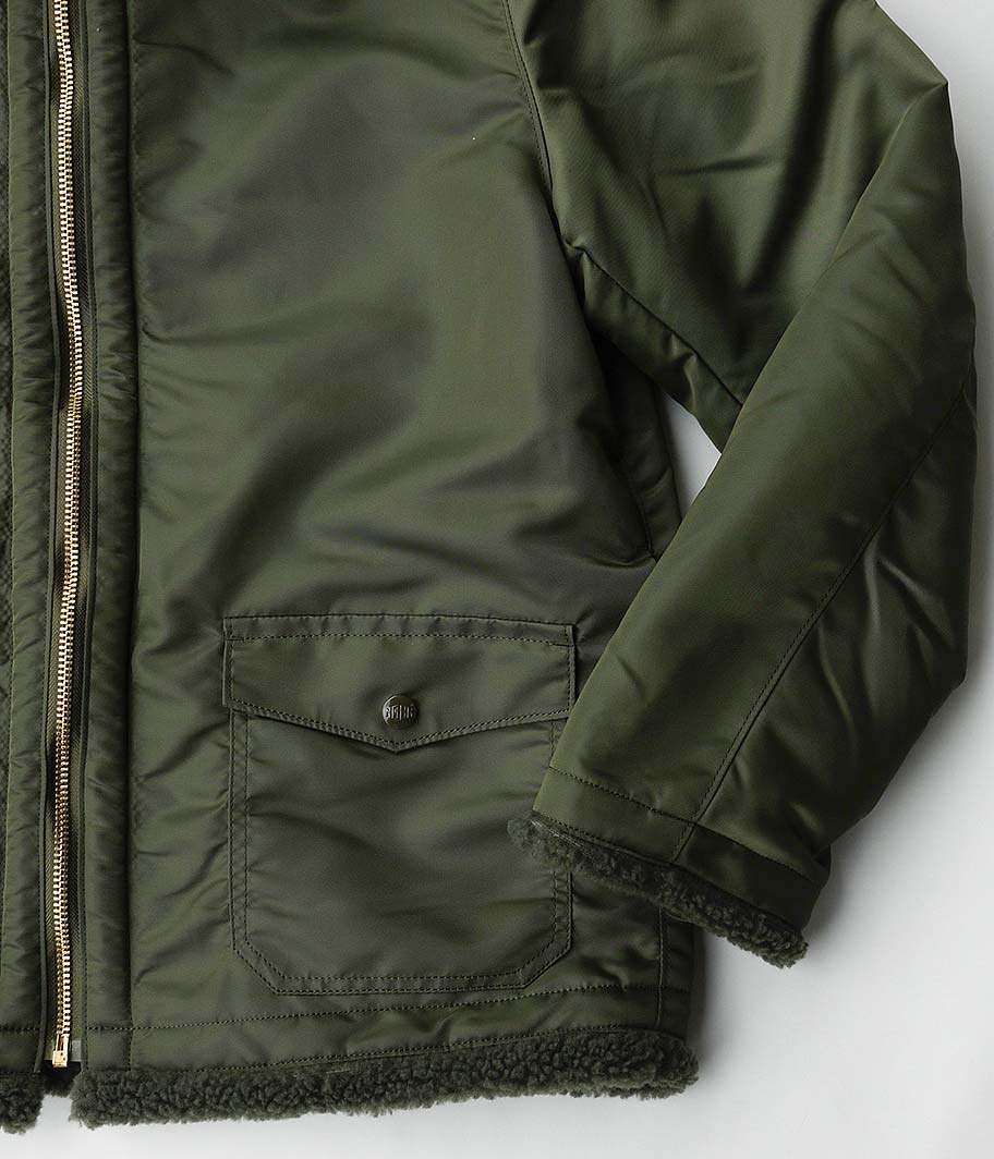 NECESSARY or UNNECESSARY BOMBER NYLON