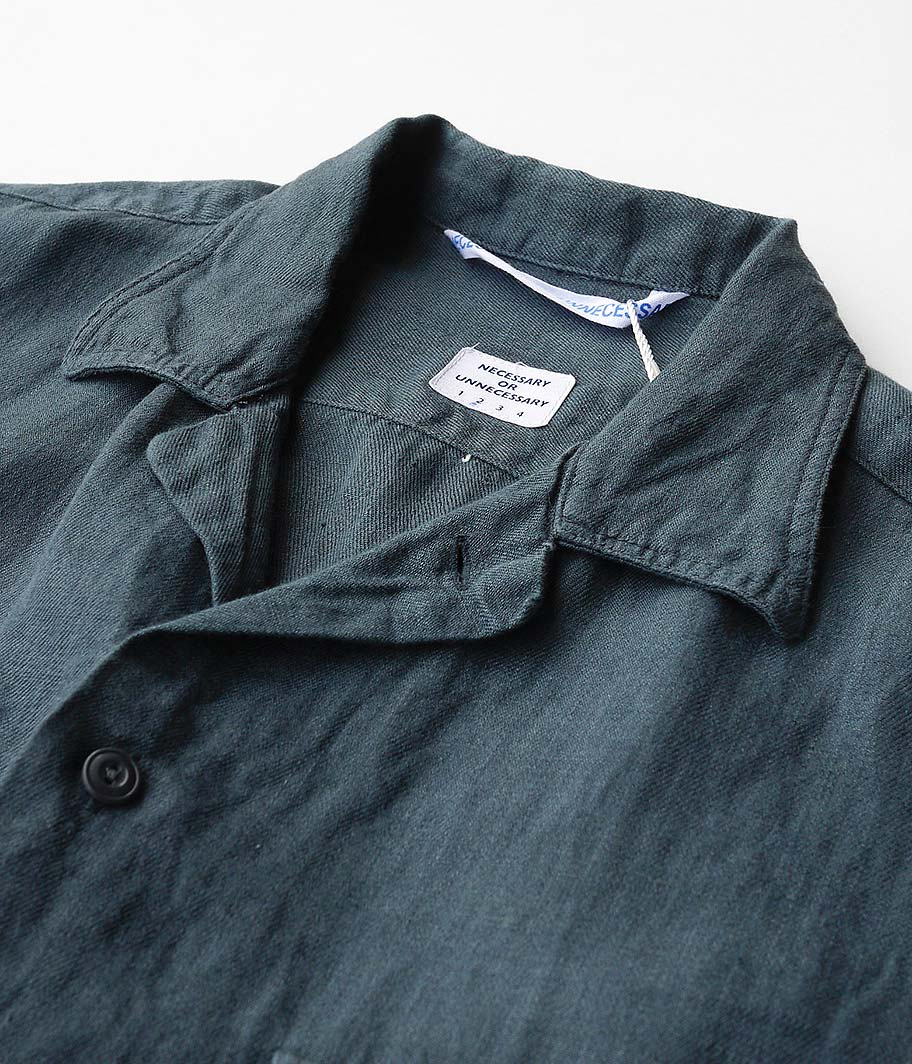 NECESSARY or UNNECESSARY Two Pocket Shirt Linen
