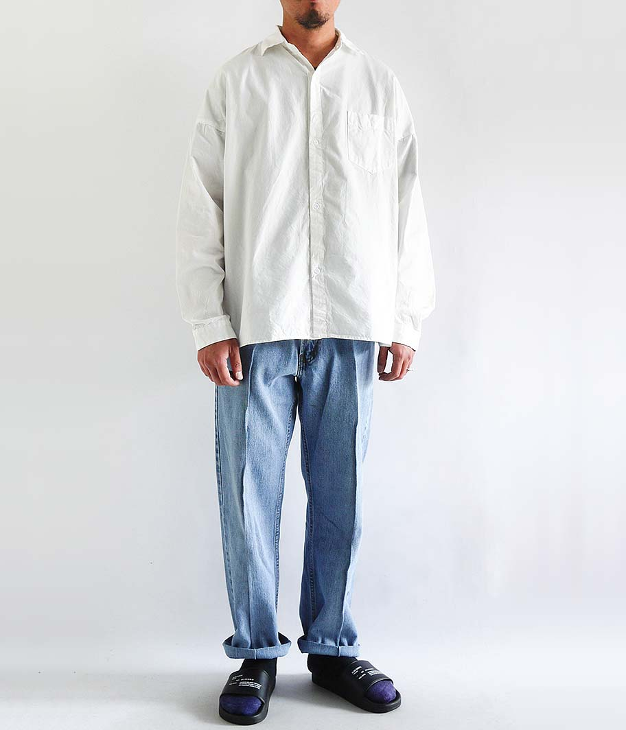 NECESSARY or UNNECESSARY SLOPING SHIRTS