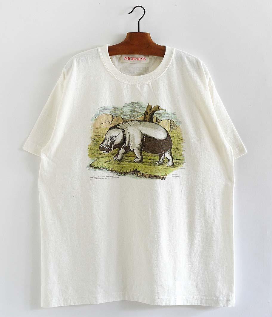 NICENESS BERNARD NNビンテージ珍獣Tシャツ