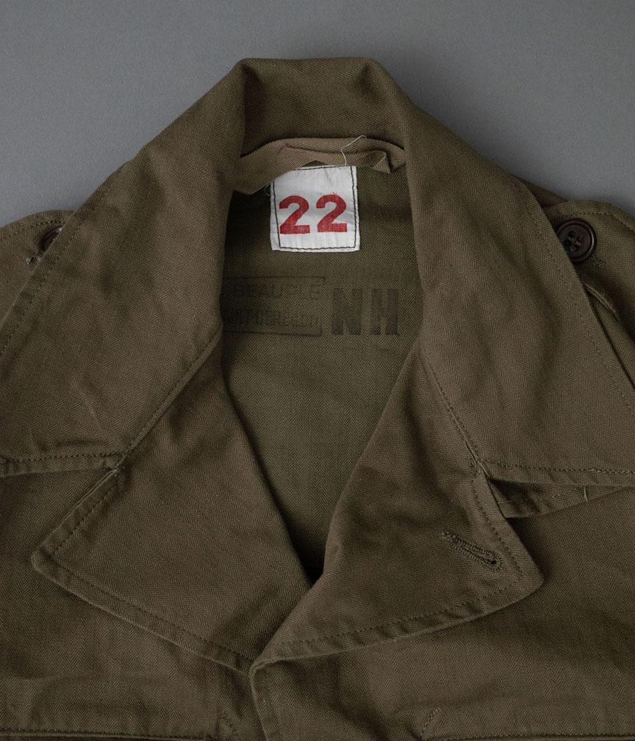50's フランス軍 M-47フィールドジャケット後期 [Dead Stock]