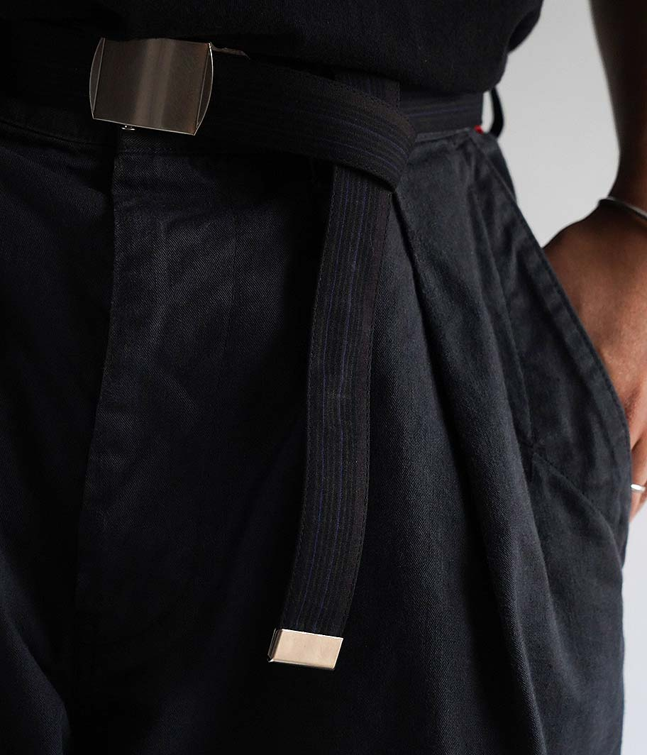 SOWBOW 小倉織 腰帯