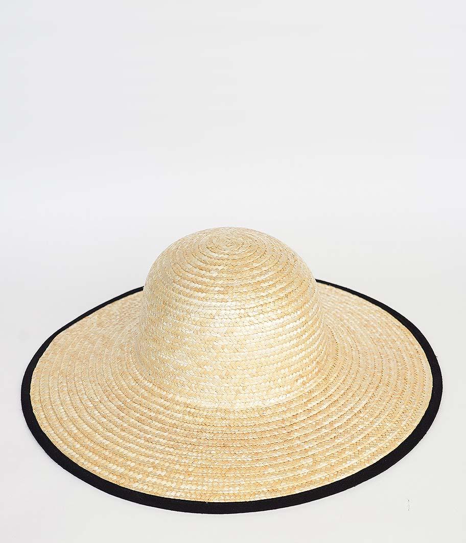 SOWBOW 鐘型 傘 麦藁帽 / BELL SHAPE  KASA MUGIWARA HAT