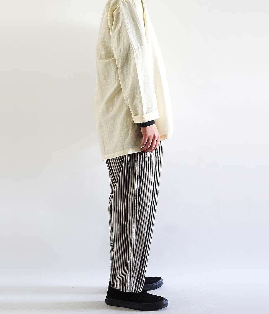 SOWBOW KOKURA-ORI 蒼氓イージーパンツ