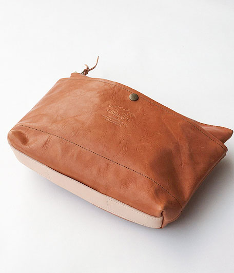 THE SUPERIOR LABOR Leather Clutch Bag L