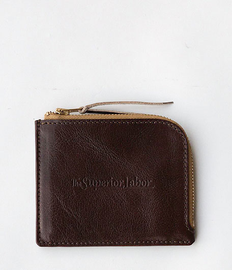 THE SUPERIOR LABOR Zip Half Wallet