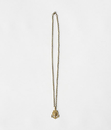 THE SUPERIOR LABOR Brass Anchor Necklace