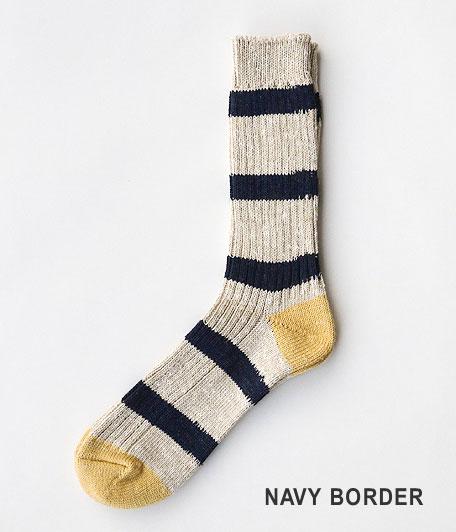 THE SUPERIOR LABOR Border Socks