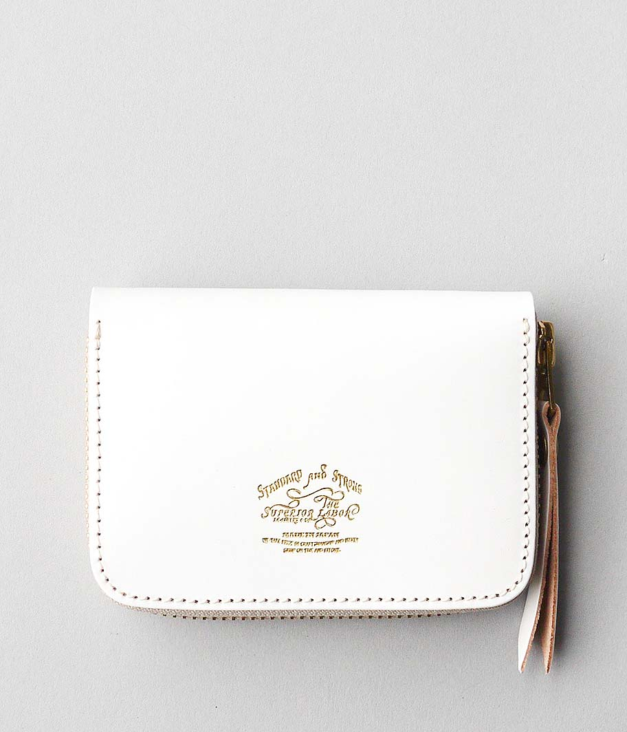 THE SUPERIOR LABOR Bridle Zip Small Wallet