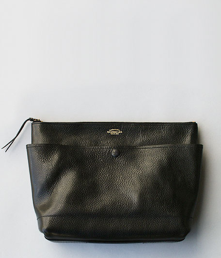 THE SUPERIOR LABOR BLACK for RADICAL Leather Clutch Bag L