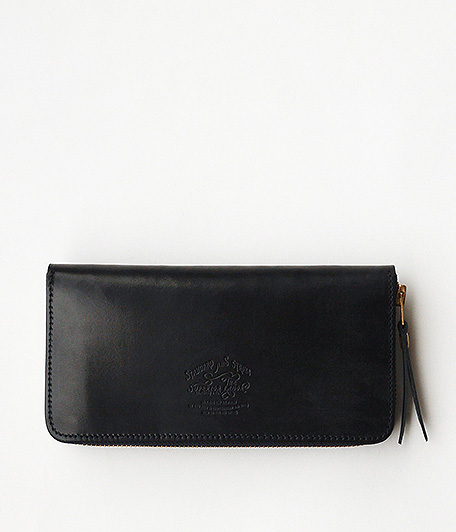 THE SUPERIOR LABOR Bridle Zip Long Wallet