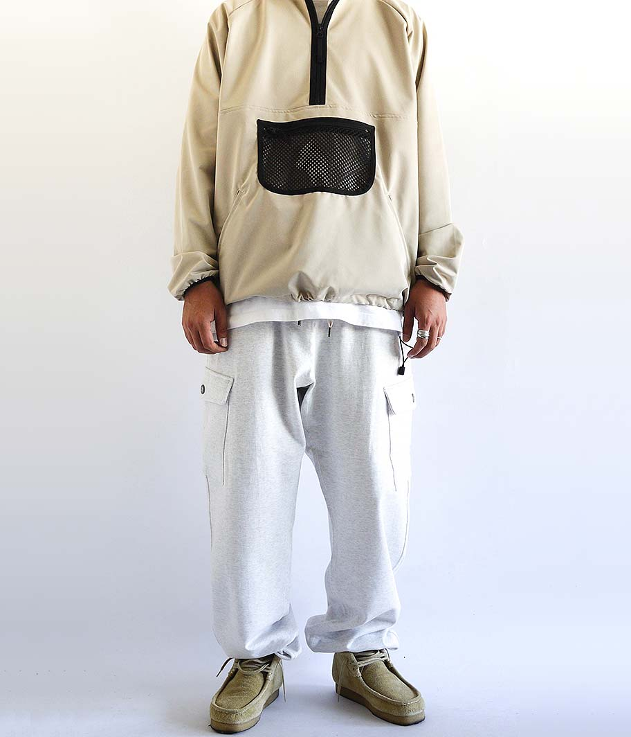 tone BASIC CARGO SWEAT PANTS
