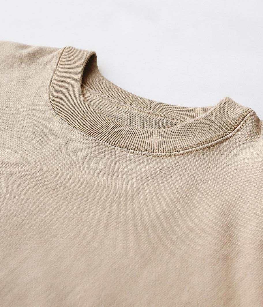 tone COTTON CREW NECK SWEAT