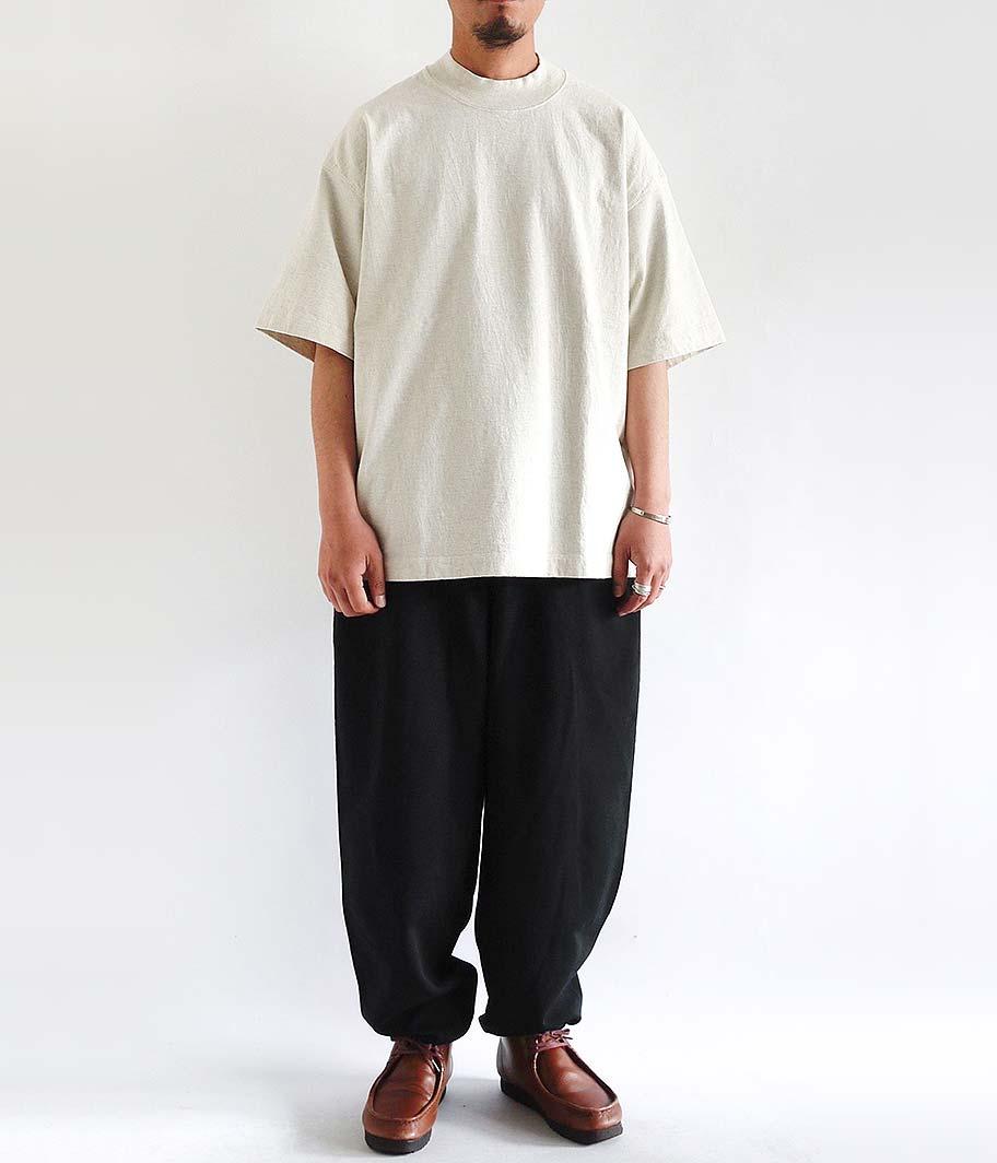 tone Mock Neck SS Shirt