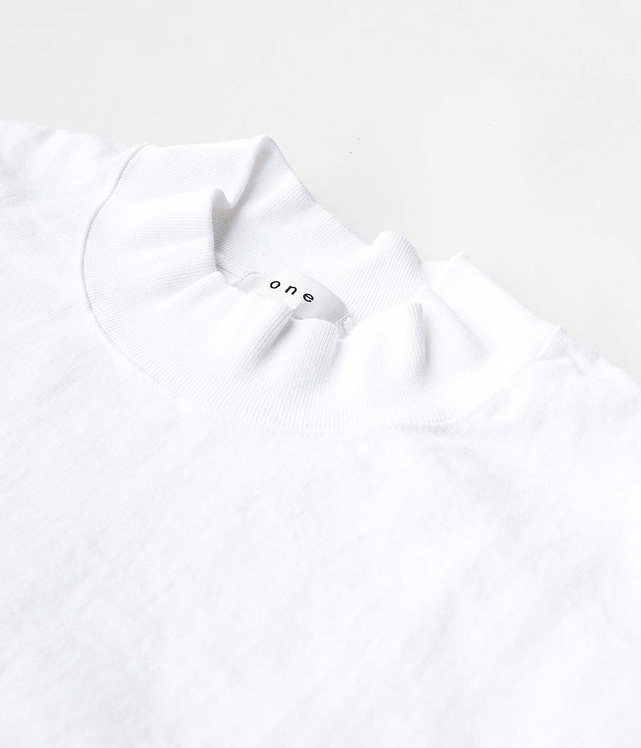 tone Mock Neck SS Shirt
