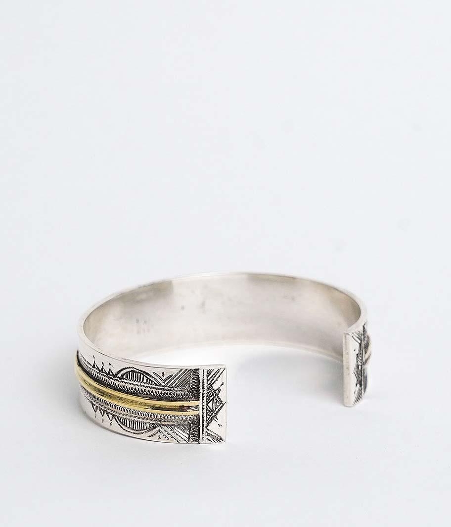 Touareg Silver Bangle 11