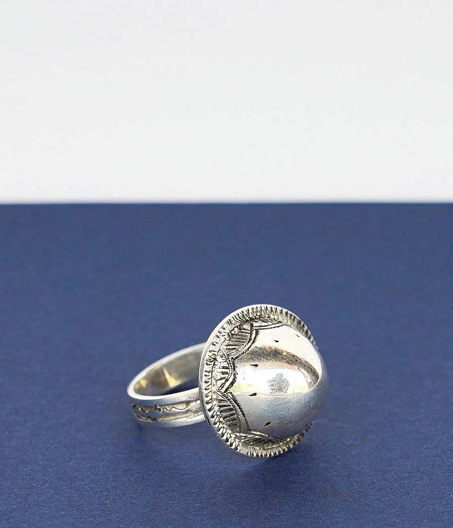 Touareg Silver Ring 05