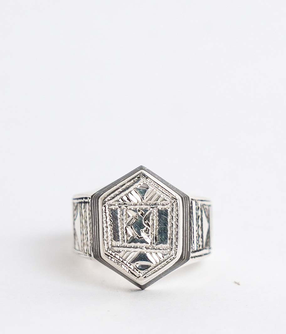 Touareg Silver Ring 15