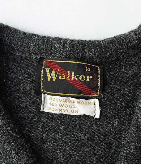 60's Walker ビンテージVネックモヘアニット