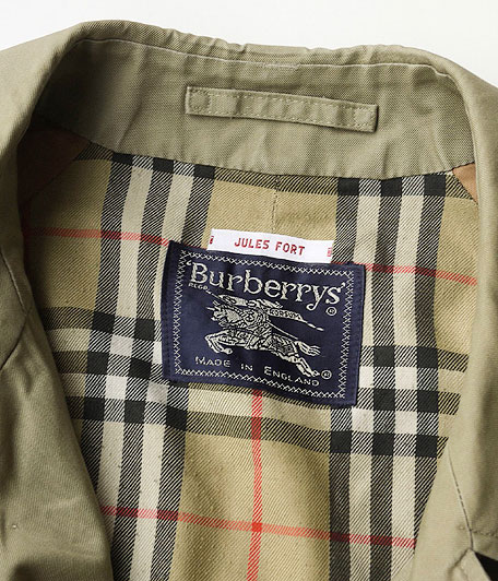 Burberry's オールドステンカラーコート [resize]