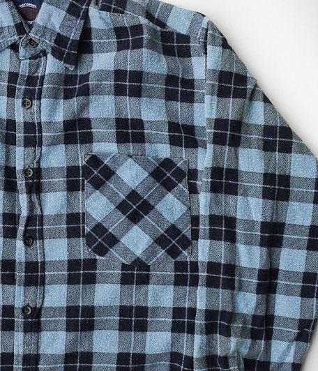 オールドライトフランネルシャツ