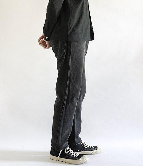 Levi's505 BLACK スリムフィットリメイク  [remake]