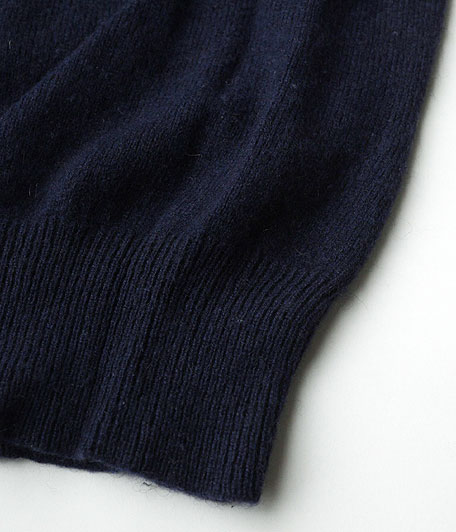 オールドカシミアクルーネックセーター
