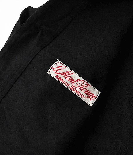 40's ビンテージブラックモールスキンフレンチワークジャケット