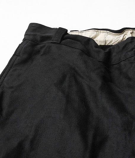 40's ビンテージブラックモールスキンフレンチワークパンツ