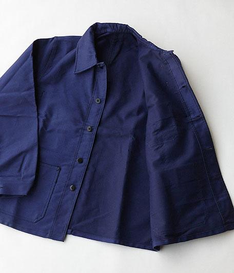 60's ビンテージモールスキンフレンチワークジャケット
