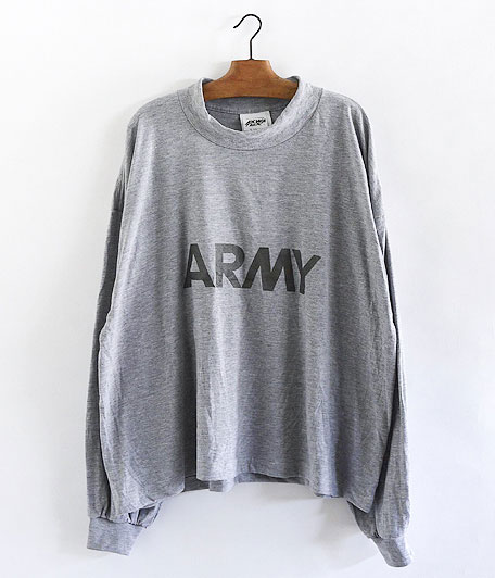 Remake U.S.ARMY L/S BIG T-SHIRTS