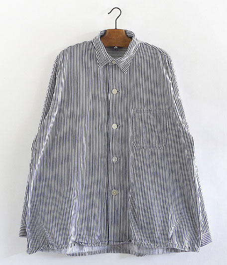 ジャーマンストライプワークシャツ
