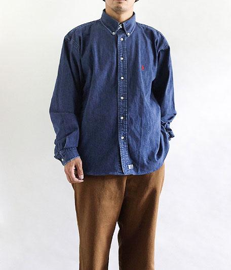 Ralph Lauren デニムボタンダウンシャツ