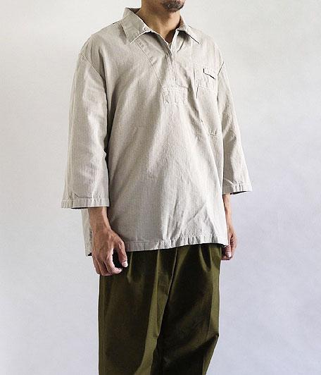 チェコ軍 プルオーバーシャツ [Overdyed Gray Beige]