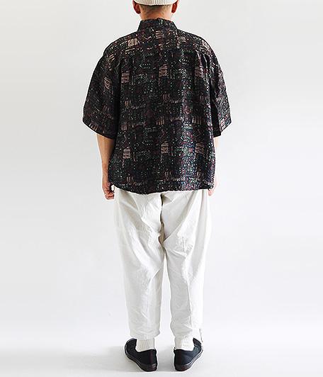 ショートスリーブシルクシャツ