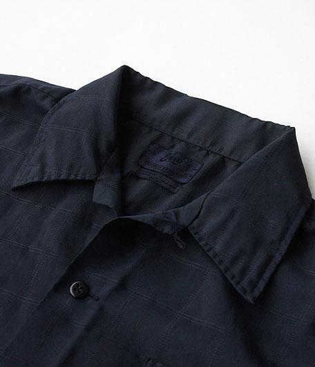 オールドオープンカラーシャツ [Overdyed Navy]