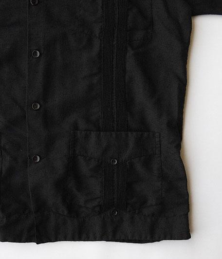 オールドキューバシャツ  [Overdyed Black]