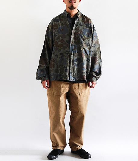 ロングスリーブシルクシャツ