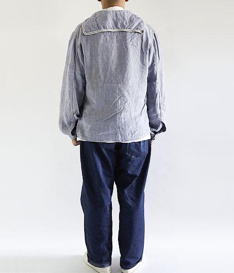 50's フランス軍リネンセーラーシャツ