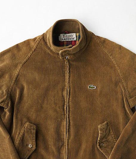 80's LACOSTE  コーデュロイハリントンジャケット