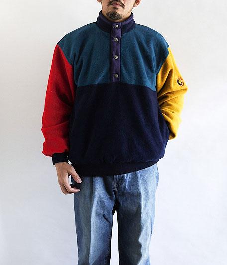90's ユーロフリースプルオーバー