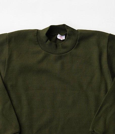 ベルギー軍 モックネックサーマルTシャツ [Dead Stock]