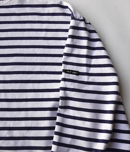 Saint James ボーダーボートネックTシャツ